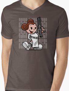 Vintage Leia Mens V-Neck T-Shirt