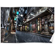 Closing Time - Melbourne City Laneway Poster