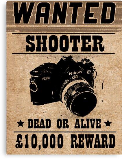 Shooter Wanted by David Brandon