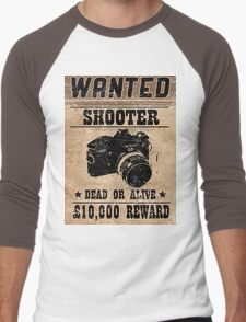 Shooter Wanted Men's Baseball ¾ T-Shirt