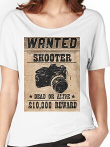 Shooter Wanted Women's Relaxed Fit T-Shirt
