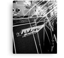Flint and steel amplifier photography Canvas Print