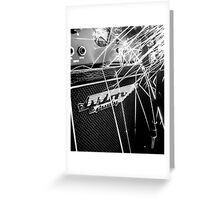 Flint and steel amplifier photography Greeting Card