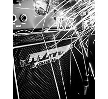 Flint and steel amplifier photography Photographic Print