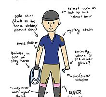 How To Identify an Equestrian by AwayLaughing