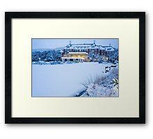 chateau tongariro Framed Print