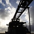 old bore drilling rig by Paul Moloney