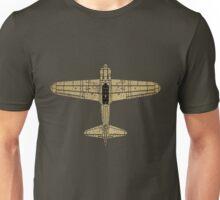Mitsubishi A6M Zero (Vintage/Worn Look) Unisex T-Shirt