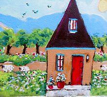 The Sheep House by Marleneyvonne