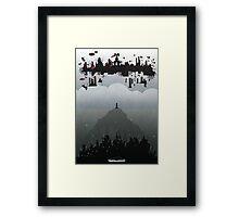 Bioshock- 2 worlds Framed Print