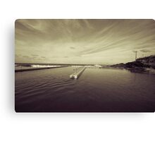 Ocean Pool Canvas Print