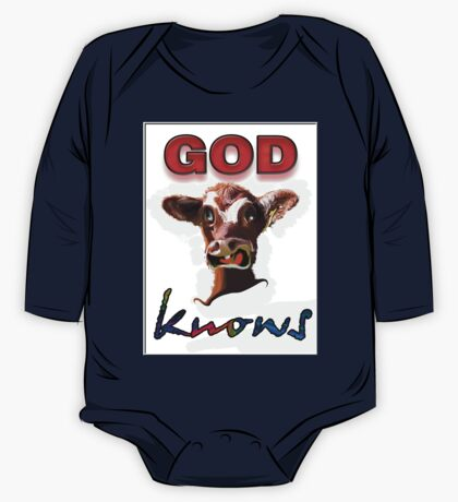 GOD KNOWS One Piece - Long Sleeve