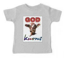 GOD KNOWS Baby Tee