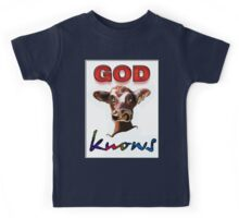 GOD KNOWS Kids Tee