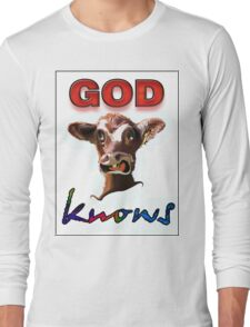 GOD KNOWS Long Sleeve T-Shirt