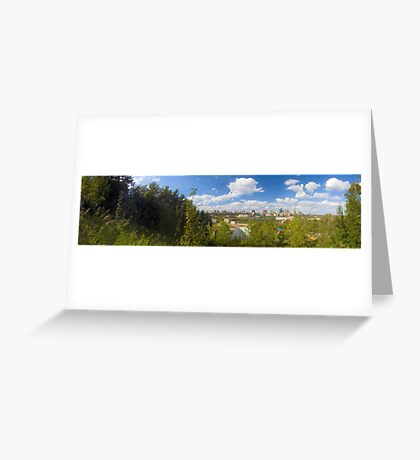 Edmonton - Panorama Greeting Card