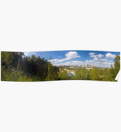 Edmonton - Panorama Poster