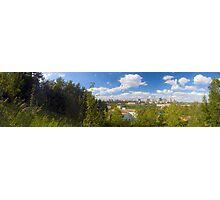 Edmonton - Panorama Photographic Print