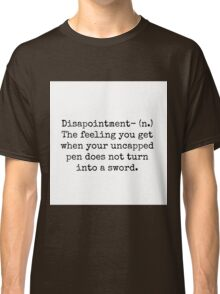 Percy Jackson Disappointment  Classic T-Shirt