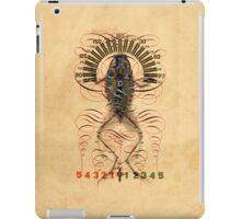 Frog-chart 1 iPad Case/Skin