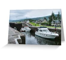 On the way down.........next stop Loch Ness......! Greeting Card