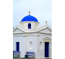 Greek Church Photographic Print