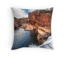 Bell Gorge on the Gibb River Road Throw Pillow