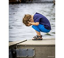 The Big Splash Photographic Print