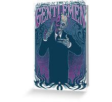 Gentlemen Greeting Card