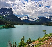 St. Mary Lake From Sun Point, Glacier National Park by DArthurBrown