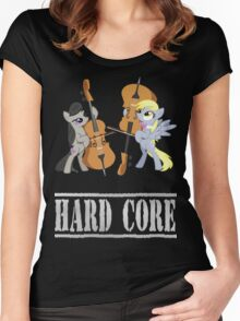 Contrebasse de Derpy Hooves.2 - My Little Pony - MLP:FIM Women's Fitted Scoop T-Shirt