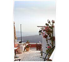 Fira Terrace Poster