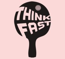 Ping Pong Think Fast One Piece - Long Sleeve