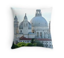 Italian Cathedral- Venezia Throw Pillow