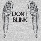 [Doctor Who] Don't Blink - Wings (Black) by ladysekishi