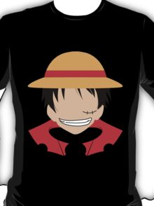 Luffy One Piece Minimalistic Art T-Shirt