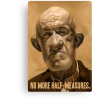 No More Half Measures Canvas Print