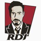 Robert Downey Jr. - KFC Logo by CongressTart