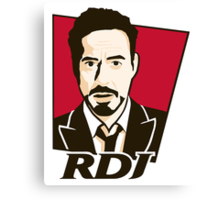 Robert Downey Jr. - KFC Logo Canvas Print