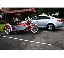 Liberty Sidecar Photographic Print