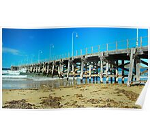 The Jetty at Coffs Poster