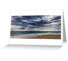 Preston Beach Greeting Card