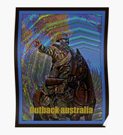outback australia Poster