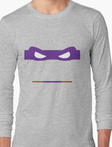 Purple Ninja Turtles Donatello Long Sleeve T-Shirt