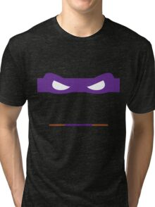 Purple Ninja Turtles Donatello Tri-blend T-Shirt