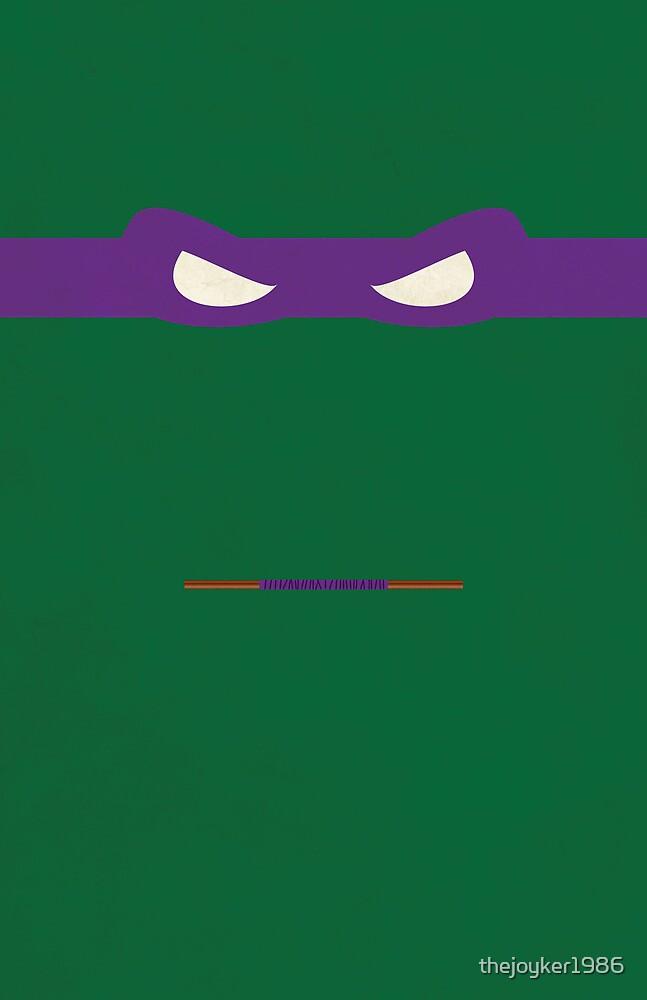 Purple Ninja Turtles Donatello by thejoyker1986