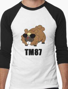 Bidoof Swagger Men's Baseball ¾ T-Shirt
