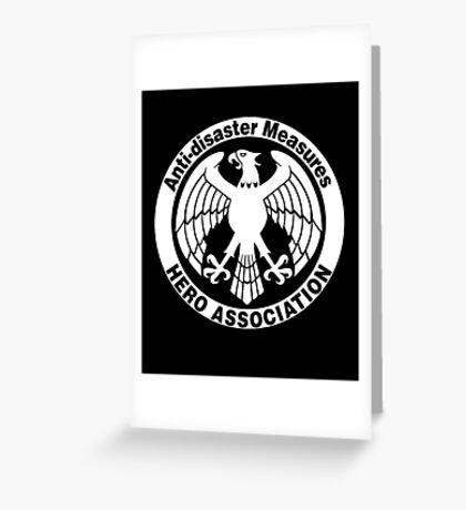 Hero Association Greeting Card