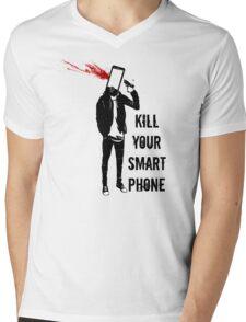 Kill Your Smartphone - Variant Mens V-Neck T-Shirt