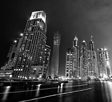 Dubai Marina by Dan Edwards